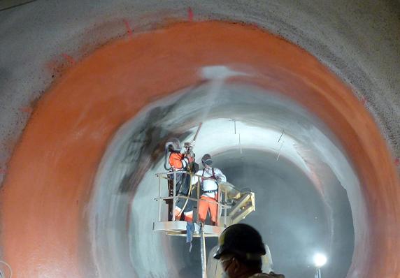 آب بندی تونل