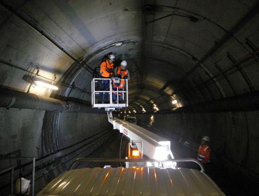روشهای آب بندی تونلها
