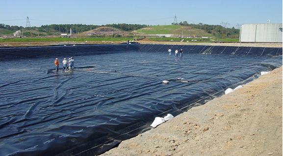 پوشش و آب بندی استخرهای کشاورزی با ژئوممبران